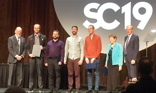 Gordon Bell Prize Award ceremony